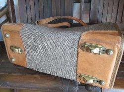 画像3: 高級◆Hartman Luggage ハートマンツイードショルダーバッグVintage USA製