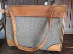 画像2: 高級◆Hartman Luggage ハートマンツイードショルダーバッグVintage USA製
