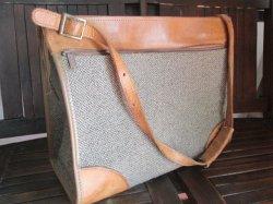 画像1: 高級◆Hartman Luggage ハートマンツイードショルダーバッグVintage USA製