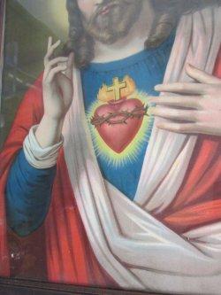 画像4: ◆1900年代〜ドイツ製キリスト様 アンティーク壁掛け*マリア カトリック宗教