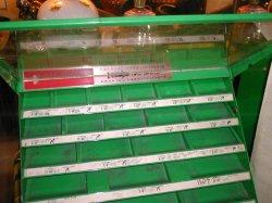 画像2: 激レア☆60'Sアメリカ製工具箱BOX ビンテージ*店舗ディスプレイ