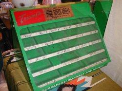 画像1: 激レア☆60'Sアメリカ製工具箱BOX ビンテージ*店舗ディスプレイ